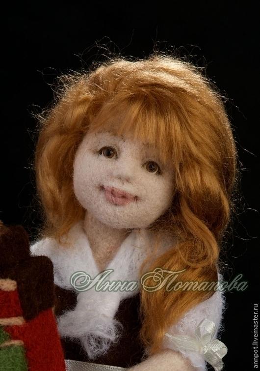 Коллекционные куклы ручной работы. Ярмарка Мастеров - ручная работа. Купить Авторская войлочная кукла Домовушка Брюж. Handmade.