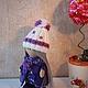 """Куклы тыквоголовки ручной работы. Интерьерная кукла """"Лизонька"""" рост 25 см.. Лариса (interior-doll). Интернет-магазин Ярмарка Мастеров."""
