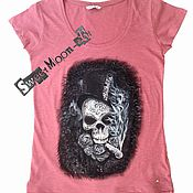 "Одежда ручной работы. Ярмарка Мастеров - ручная работа Футболка ""Grunge Style"". Handmade."
