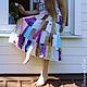 Одежда для девочек, ручной работы. Ярмарка Мастеров - ручная работа. Купить Юбка из лоскутков для девочки Полевой цветок. Handmade.