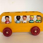 Куклы и игрушки handmade. Livemaster - original item Bus passengers School. Handmade.