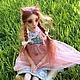 Коллекционные куклы ручной работы. Ярмарка Мастеров - ручная работа. Купить Шарнирная рыжая кошка. Handmade. Кошка, bjd, акварель