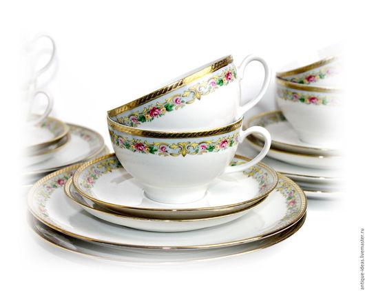 Винтажная посуда. Ярмарка Мастеров - ручная работа. Купить Winterling, пара чайных трио. Handmade. Антиквариат, винтажный стиль