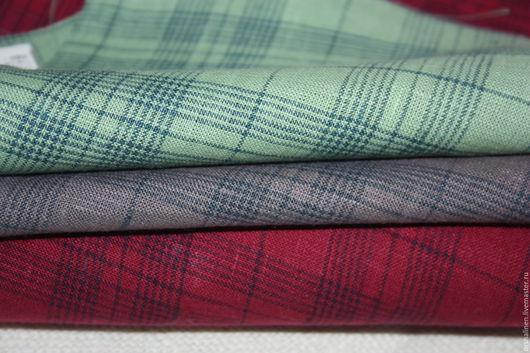 Шитье ручной работы. Ярмарка Мастеров - ручная работа. Купить НОВИНКА ткань костюмная. Handmade. Комбинированный, белорусский лен