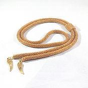 Украшения handmade. Livemaster - original item Bolo tie from beads