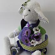 Куклы и игрушки ручной работы. Ярмарка Мастеров - ручная работа Вlackberry овечка - символ 2015 года. Handmade.