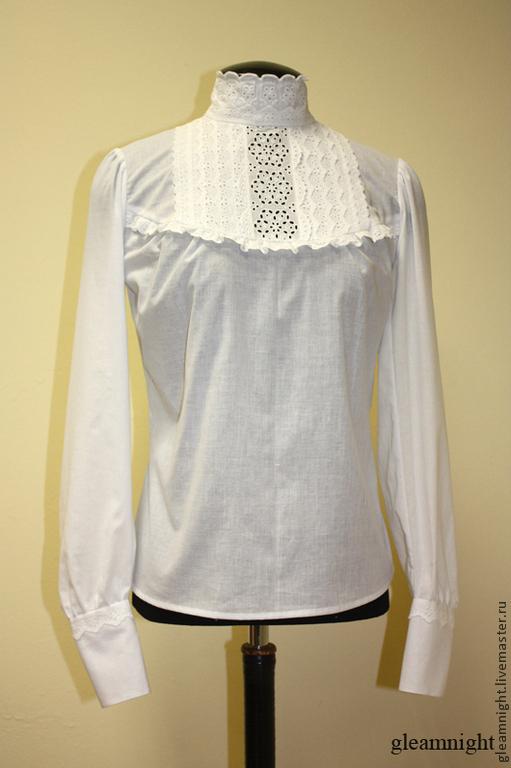 Блузка исторического кроя