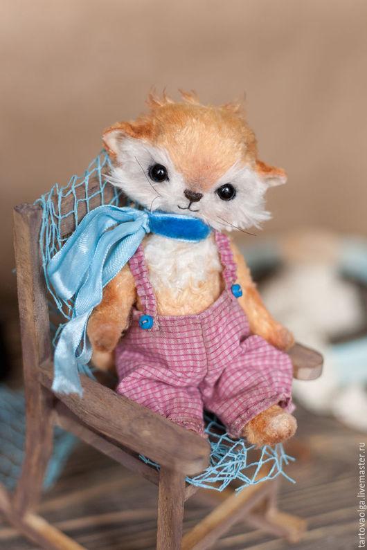 Мишки Тедди ручной работы. Ярмарка Мастеров - ручная работа. Купить Котенок Тедди Фоксик маленький котенок. Handmade.