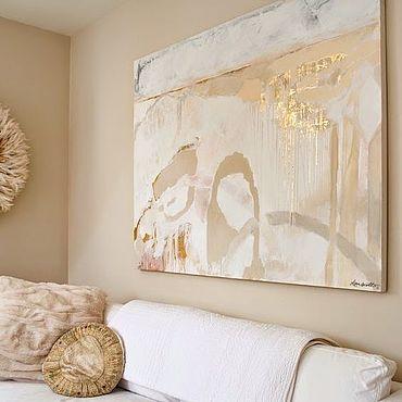"""Картины и панно ручной работы. Ярмарка Мастеров - ручная работа Картина на стену """"Золотой сон"""". Handmade."""