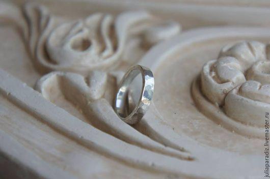 """Кольца ручной работы. Ярмарка Мастеров - ручная работа. Купить Колечко """"Морской песок"""" - серебро 925. Handmade. Серебряный, обручальное"""