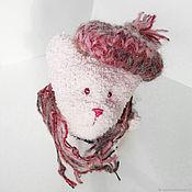 Мягкие игрушки ручной работы. Ярмарка Мастеров - ручная работа Розовый мишка. Handmade.