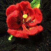 Украшения ручной работы. Ярмарка Мастеров - ручная работа Брошь Весенний цветок. Handmade.
