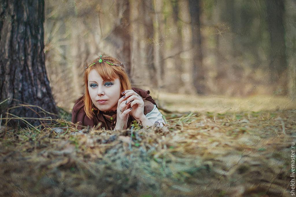 Эльфийская диадема из проволоки мастер класс фото #10