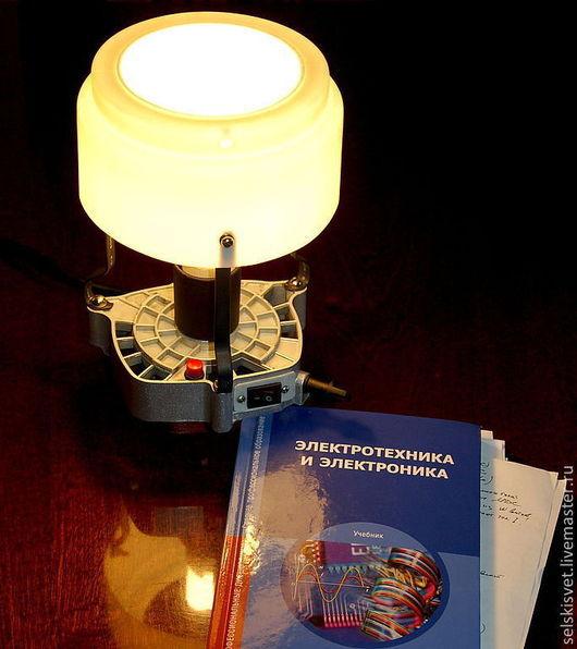 """Освещение ручной работы. Ярмарка Мастеров - ручная работа. Купить Лампа """"Whitehead"""". Handmade. Лампа, экзотика, пластик"""