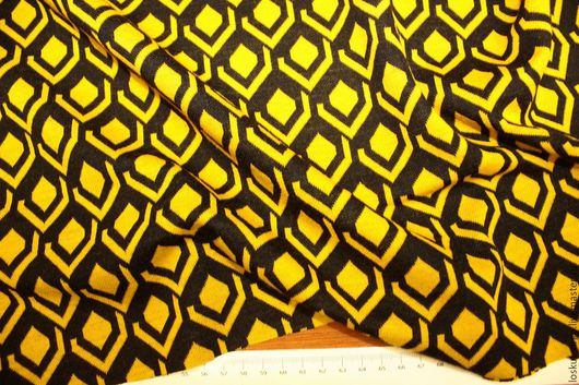 Шитье ручной работы. Ярмарка Мастеров - ручная работа. Купить Жаккардовый трикотаж, 1450руб-м. Handmade. Итальянская ткань