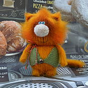 Куклы и игрушки ручной работы. Ярмарка Мастеров - ручная работа Котик Пончик. Handmade.