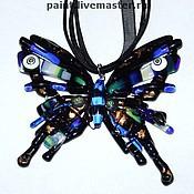 Jewelry Sets handmade. Livemaster - original item Pendant Butterfly Fritillary. Handmade.
