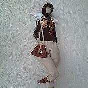 Куклы и игрушки ручной работы. Ярмарка Мастеров - ручная работа Стильный Ангел. Handmade.