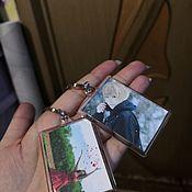 Сувениры с пожеланиями ручной работы. Ярмарка Мастеров - ручная работа Фото брелок). Handmade.