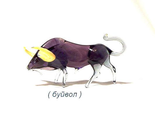 Миниатюра ручной работы. Ярмарка Мастеров - ручная работа. Купить фигурка буйвол. Handmade. Бык, африка, ручная работа