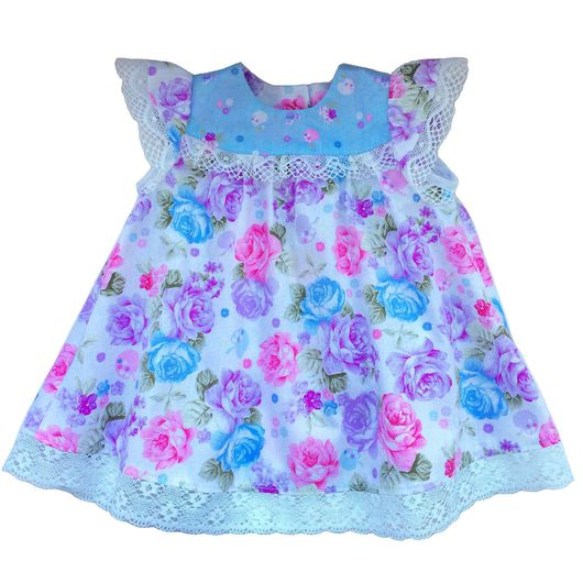 Одежда для девочек, ручной работы. Ярмарка Мастеров - ручная работа. Купить Платье, блумеры, комплект с цветами. Handmade. Платье для девочки