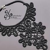 Украшения handmade. Livemaster - original item Necklace beaded lace. Handmade.