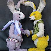 Куклы и игрушки ручной работы. Ярмарка Мастеров - ручная работа Кролик Денди Бо или крольчиха Виолетта. Handmade.