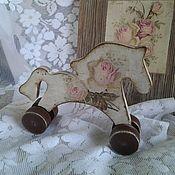 Куклы и игрушки handmade. Livemaster - original item Horse Shabby wooden. Handmade.