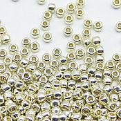 Материалы для творчества handmade. Livemaster - original item Round 11/0 TOHO PF558 Galvanized Aluminum beads Japanese. Handmade.