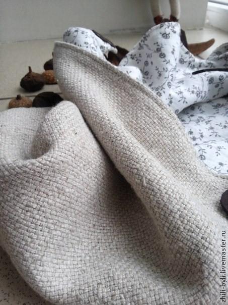 Женские сумки ручной работы. Ярмарка Мастеров - ручная работа. Купить Сумка льняная домотканая.. Handmade. Серый, этно