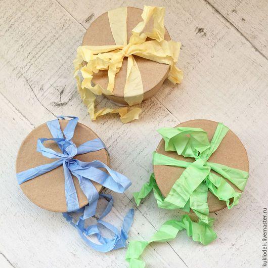 Куклы и игрушки ручной работы. Ярмарка Мастеров - ручная работа. Купить Коробочки для декора. Handmade. Бежевый, коробочка, для кухни, для кукол