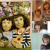 Куклы и игрушки ручной работы. Ярмарка Мастеров - ручная работа Куклы по фото любимые внучки. Handmade.