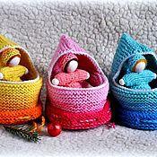 Куклы и игрушки ручной работы. Ярмарка Мастеров - ручная работа Куколка в волшебном мешочке. Handmade.