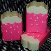 """Косметика ручной работы. Ярмарка Мастеров - ручная работа """"Клубничный дождь"""" Натуральное мыло с нуля. Handmade."""