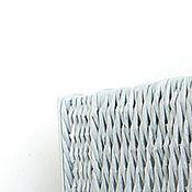 Для дома и интерьера ручной работы. Ярмарка Мастеров - ручная работа Плетеный короб Серый мох. Handmade.