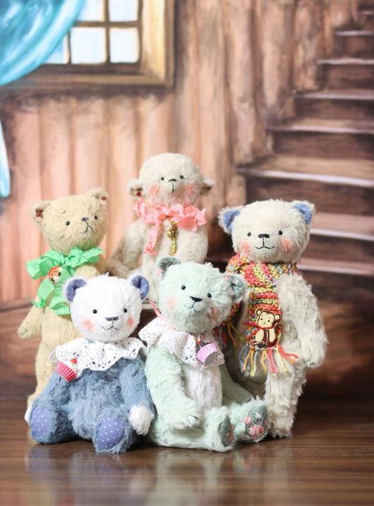 Мишки Тедди ручной работы. Ярмарка Мастеров - ручная работа. Купить Мишки Тедди 13см. Handmade. Мишки тедди