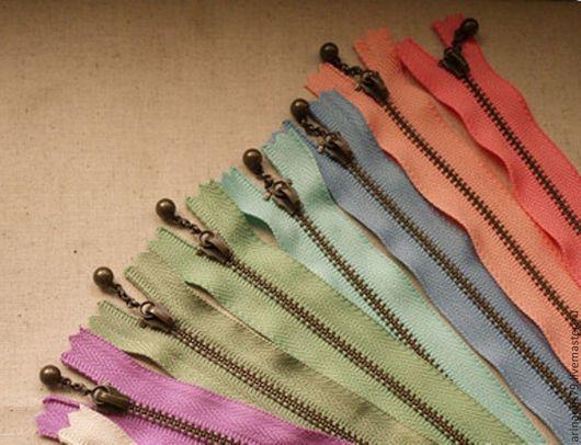Шитье ручной работы. Ярмарка Мастеров - ручная работа. Купить Японские молнии 15 см 10 цветов.в ассортименте.. Handmade.