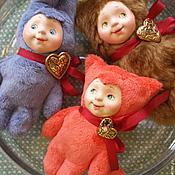 Куклы и игрушки ручной работы. Ярмарка Мастеров - ручная работа Тедди-долл со скидкой. Handmade.