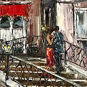 Картины и панно handmade. Livemaster - original item Oil painting lovers in Venice. Venice in an oil painting.. Handmade.