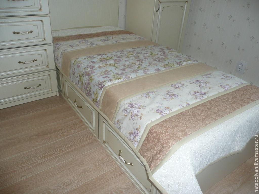 Home Textiles & Carpets handmade. Livemaster - handmade. Buy Bed linen'Beige Provence'.Quilt, provence, bedspread patchwork