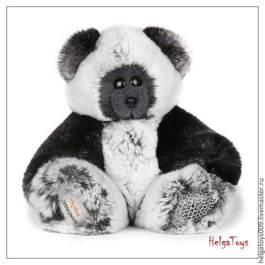 """Мишки Тедди ручной работы. Ярмарка Мастеров - ручная работа. Купить Мишка """"Хидео"""" из натурального меха. Handmade. Серый"""