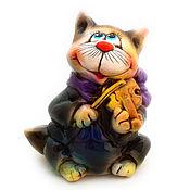 Подарки к праздникам handmade. Livemaster - original item Ceramic statuette
