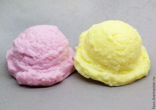Другие виды рукоделия ручной работы. Ярмарка Мастеров - ручная работа. Купить Силиконовая форма Шарик мороженого. Handmade. Розовый