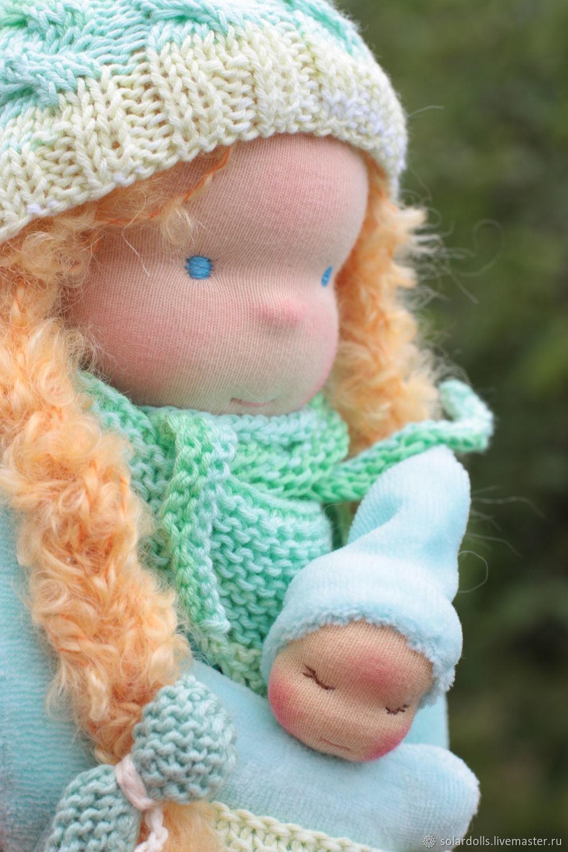 Вальдорфская кукла Злата 32 см, Вальдорфская игрушка, Москва, Фото №1
