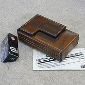 Сувениры и подарки handmade. Livemaster - original item Cigarette case. sigaretta. Personalized gift. Option with the LD brand. Handmade.