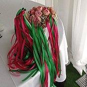 Свадебный салон ручной работы. Ярмарка Мастеров - ручная работа Свадебные ленты на палочке. Handmade.