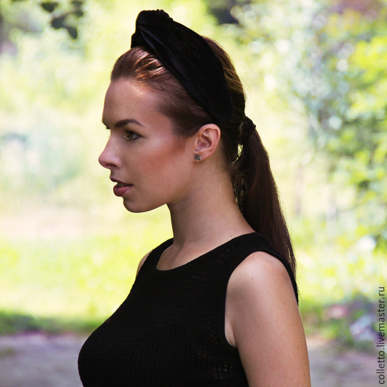 Tiaras & Headbands handmade. Livemaster - handmade. Buy Headband-turban.Headband, headbands