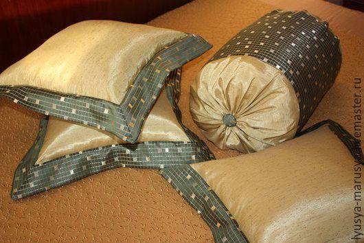 """Текстиль, ковры ручной работы. Ярмарка Мастеров - ручная работа. Купить Комплект """"Восточная нега"""". Handmade. Комбинированный"""