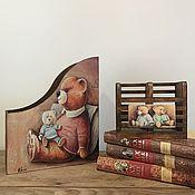 """Для дома и интерьера ручной работы. Ярмарка Мастеров - ручная работа Декор для детской """"Мишка"""". Handmade."""