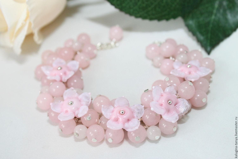 Розовый кварц цветок купить одесса